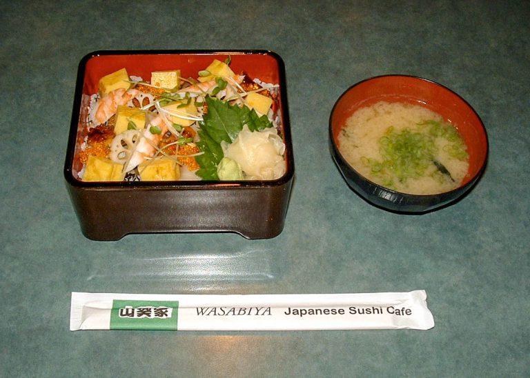 Fukiyose Chirashi Lunch