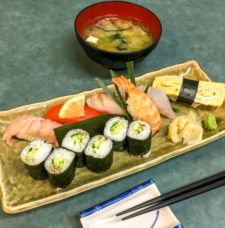 Kaede Sushi Lunch