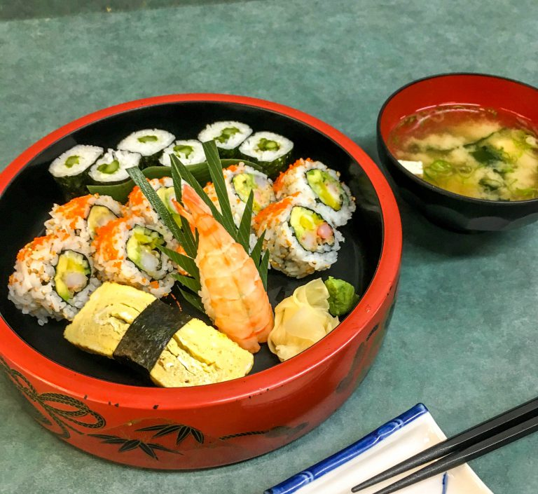 Wakaba Sushi Lunch