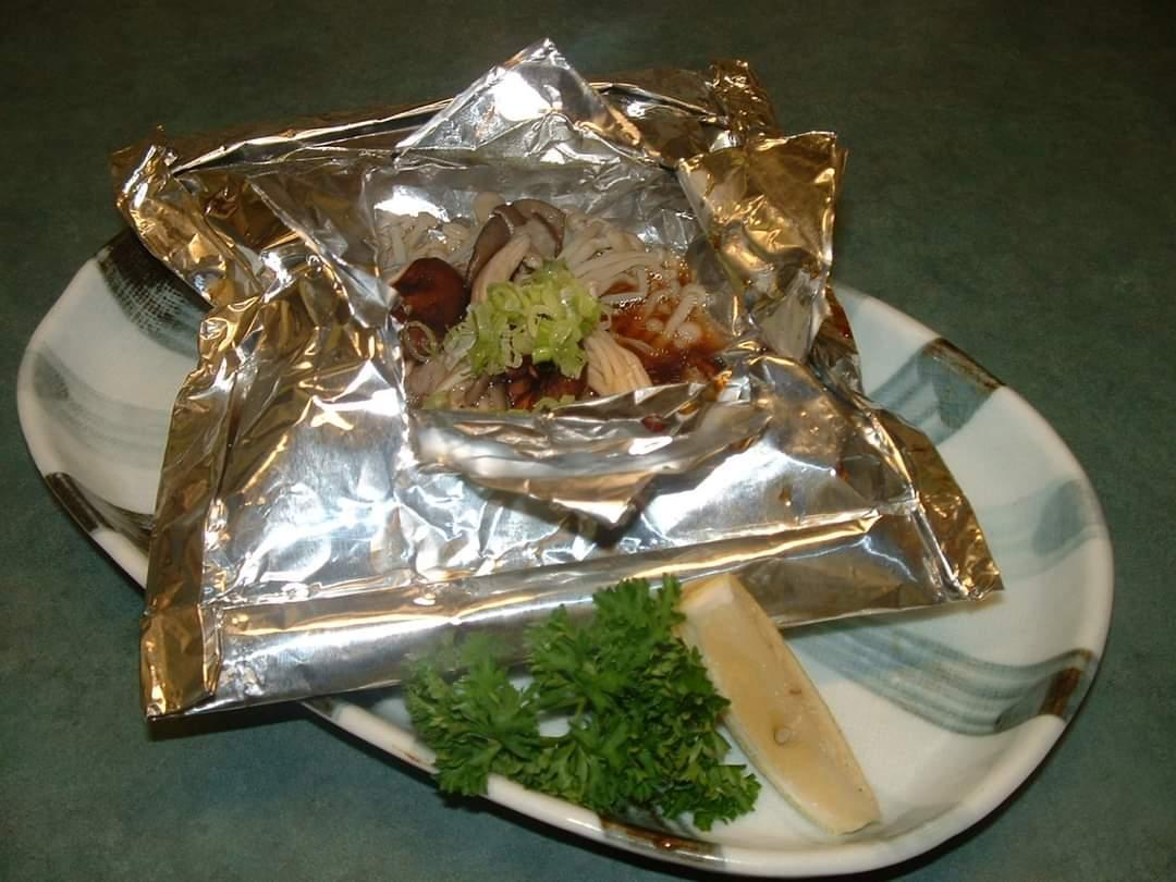 Fall Specials #1 – Mixed Mushroom Foil Yaki